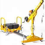 Davit Arm 610mm / 1200mm Counterweight System