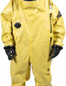 Alphatec (Trellchem) VPS VPI Suit with Boos fitted, Anti Fox lens, Airline Pass